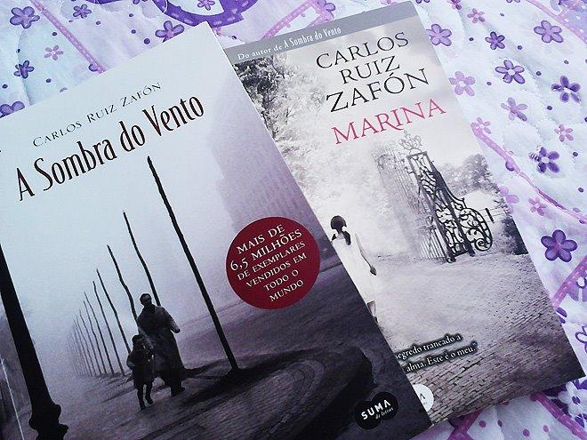 Toda a minha admiração por Carlos Ruiz Zafón