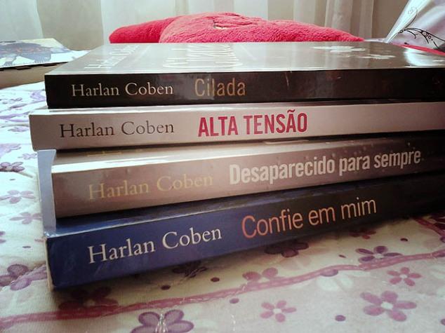 Um dos autores que mais gosto: Harlan Coben
